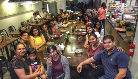 Team BiotechinAsia meetup, June 2016