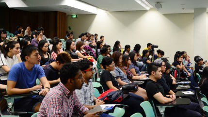 Audience at the career talk event conducted by Biotechin.Asia
