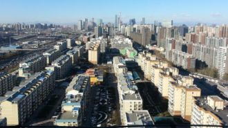 Near the East 4th Ring Road, facing west towards Beijing on 1 December... (Source: Sam)
