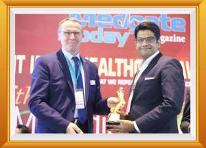 Young Entrepreneur of The Year (2016) Award presented to Mr. Sangwan by Mr.Thomas Schlitt, Managing Director, Messe Düsseldorf and His Excellency Mr. Kyungsoo Kim, Consulate General of Federal Republic of Korea