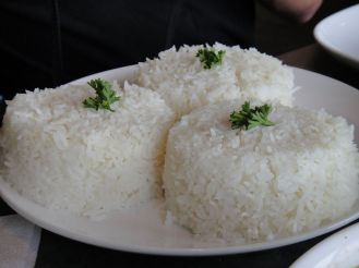 White rice is even more potent than sweet soda drinks in causing diabetes. Source: Wikimedia commons